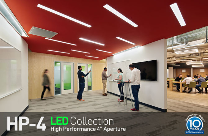 Finelite Releases HP-6 LED Collection