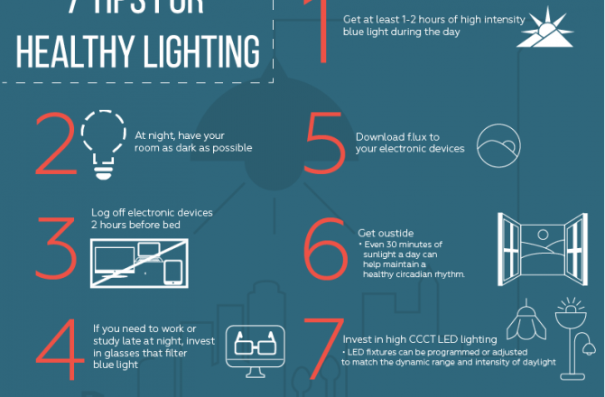 7 Tips for Healthy Lighting