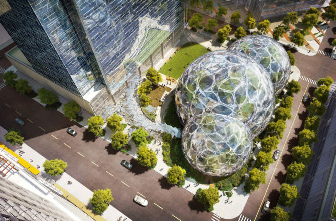 Growing Green: How Amazon has Become Seattle's Green Giant