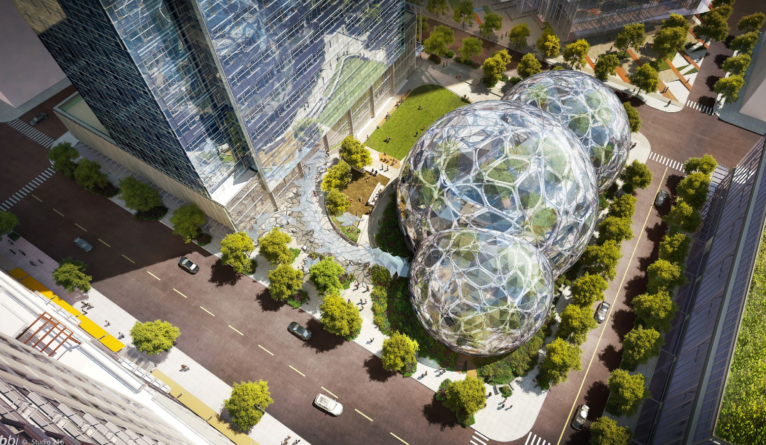 Growing Green How Amazon Has Become Seattle S Green Giant