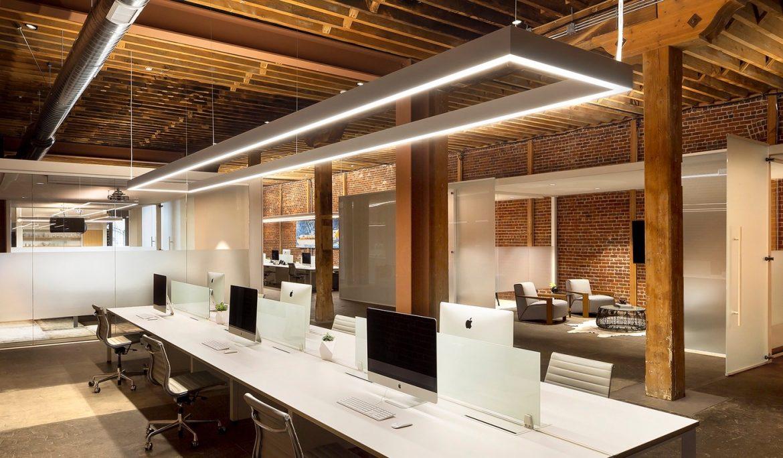 Office Lighting: LED Vs. Fluorescent