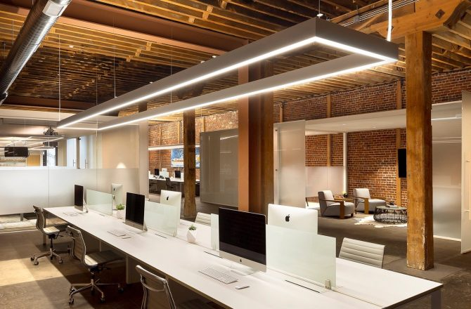 Office Lighting: LED vs. Fluorescent