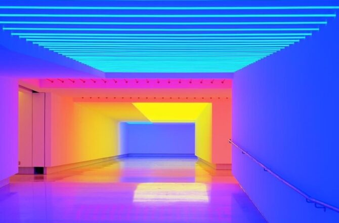 LED Lighting in Art and the Most Renowned Light Artists