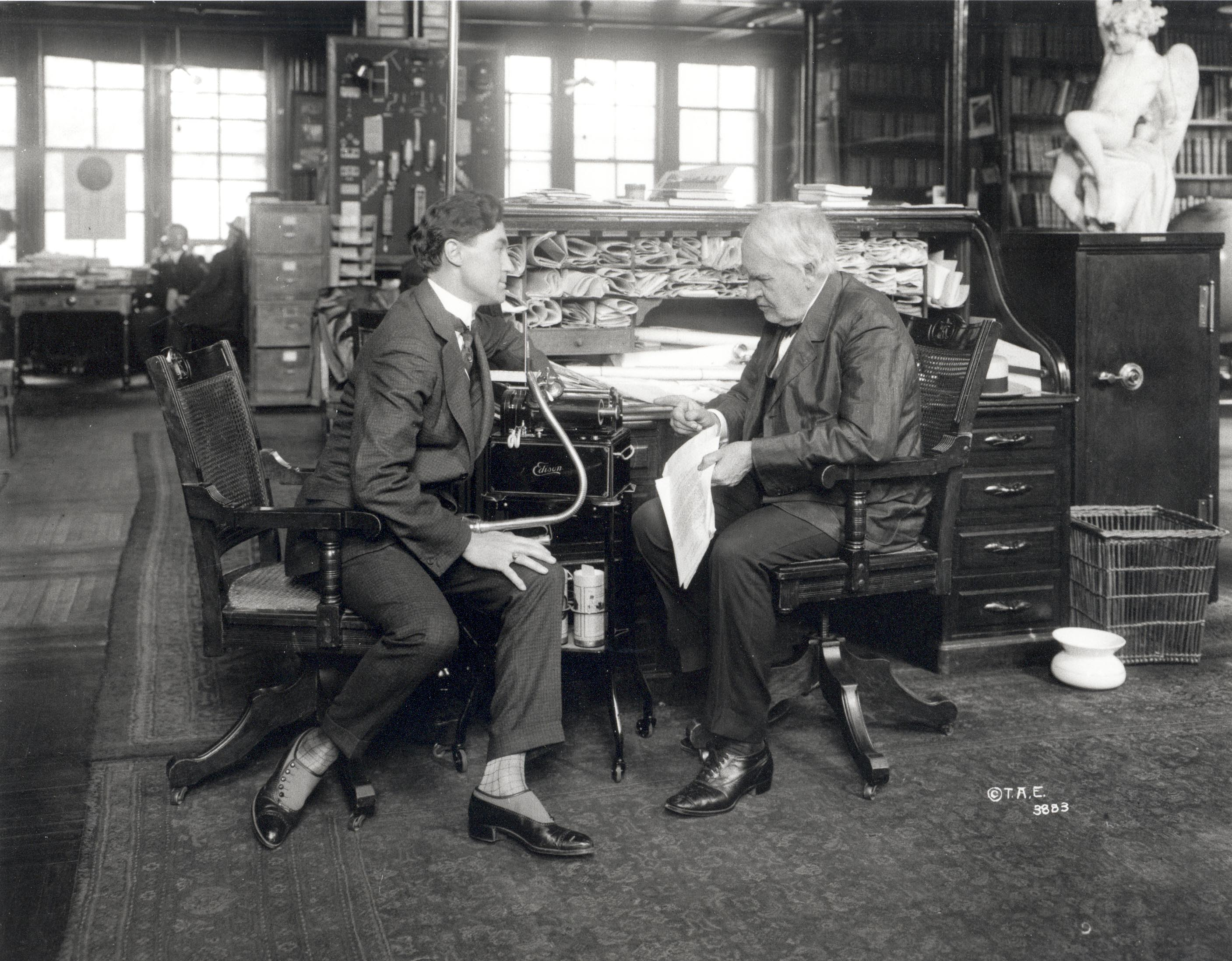 The first Lighting Industry CEO: Thomas Edison