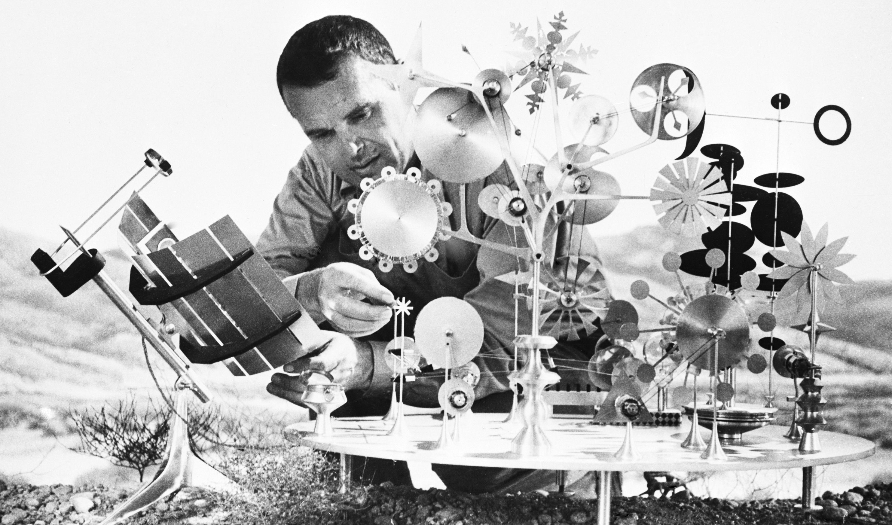 How Art Influences Lighting, Design and Architecture: Charles Eames