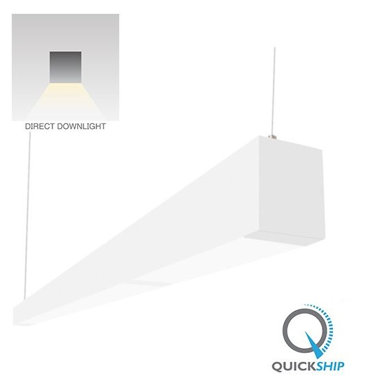 c026e5c3049 Alcon Lighting 32145-4 Beam 253 Series 4 Foot Linear Suspension Lighting LED  Linear Pendant Architec