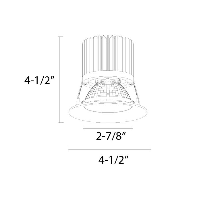 Alcon Lighting 14006 Illusione 3 Inch Architectural Led