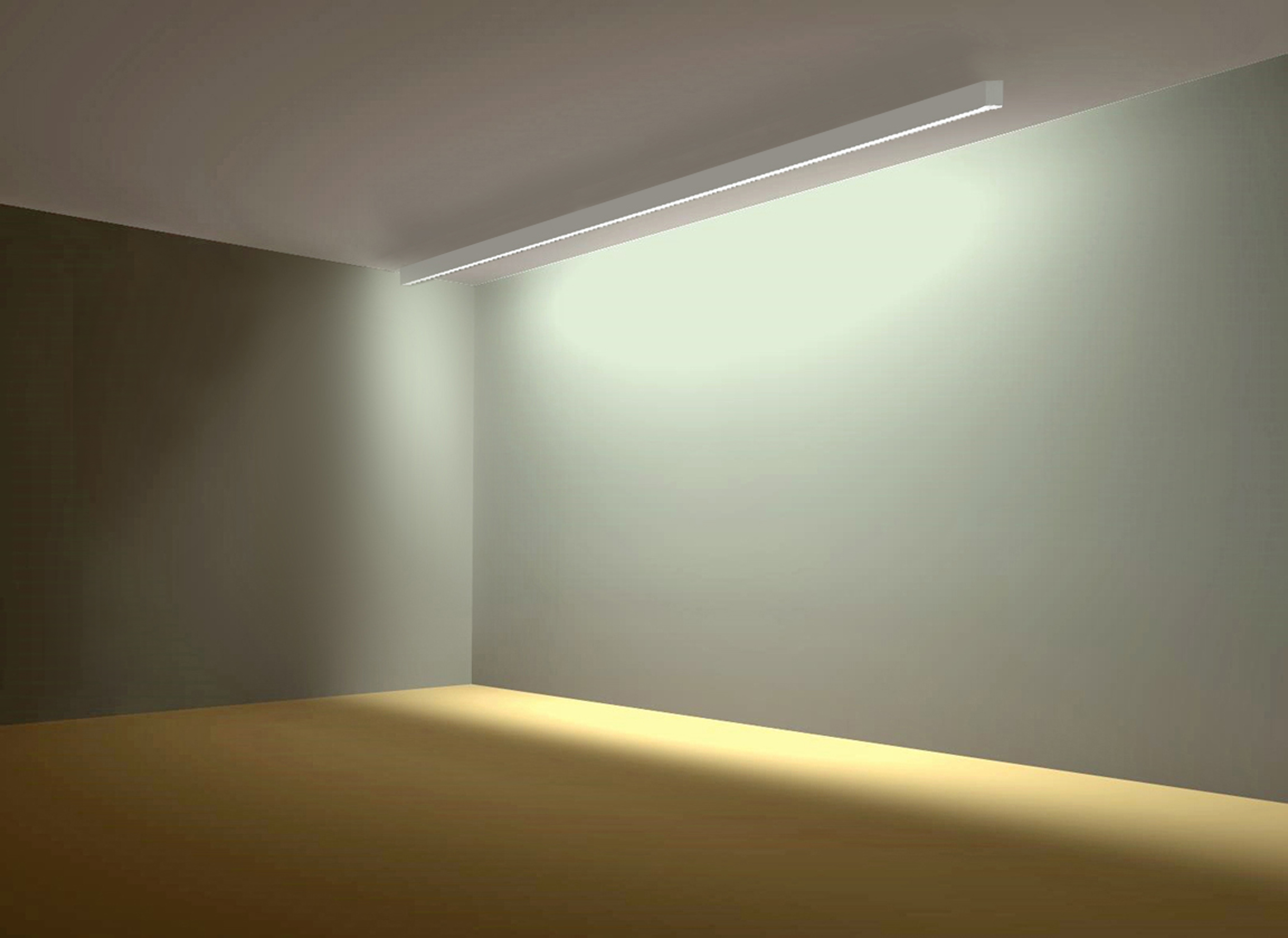 A Light D3 Accolade Suspended LED Fluorescent Fixture ...