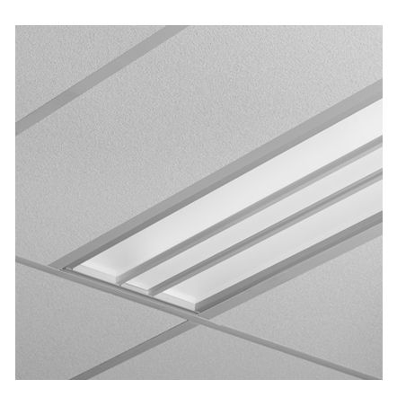 Finelite HPR High Performance Recessed Fluorescent 1x4 Recessed Light Fixture HPR-F-1x4