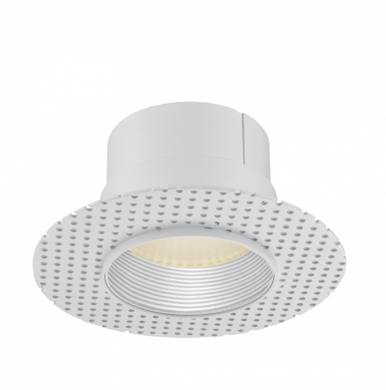 Image 1 of Alcon Lighting 14013-W Illusione 4 Inch Architectural LED Round Trimless Recessed Wall Wash Light Fixture