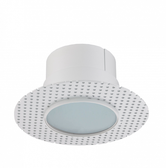 Alcon Lighting 14013-L Illusione 4 Inch Architectural LED Round Trimless Recessed Frosted Lens Light Fixture