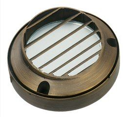 Die Cast Brass LV LED Surface Mounted Step Light