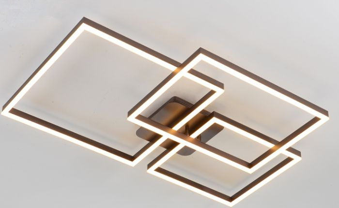 Image 1 of Alcon Lighting 12278-3 Square Architectural LED 3 Tier Square Surface Mount