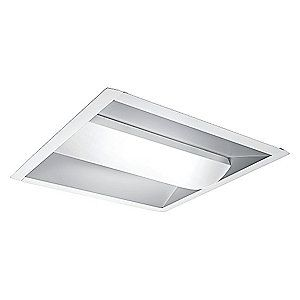 Image 1 of 501791 3500K LED Troffer Fixture Retrofit Kit, 34 Watts, 277 Voltage from PHILIPS