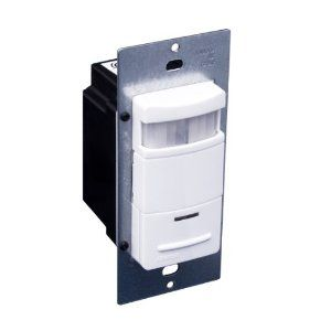 Image 1 of Leviton Designer Occupancy Sensor Wall Switch
