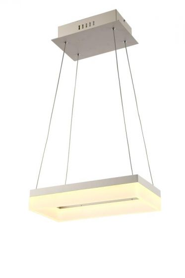 Alcon Lighting 12273-1 Rectangle Architectural LED 1 Tier Direct Downlight