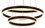 Alcon Lighting 12271-2 Redondo Suspended Architectural LED 2 Tier Ring Light Direct Indirect