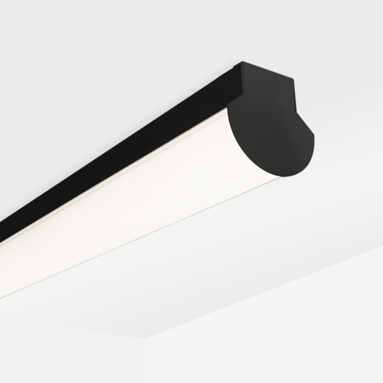 Image 1 of Alcon 11108 Lombardy Industrial Linear Surface-Mount LED Downlight Strip
