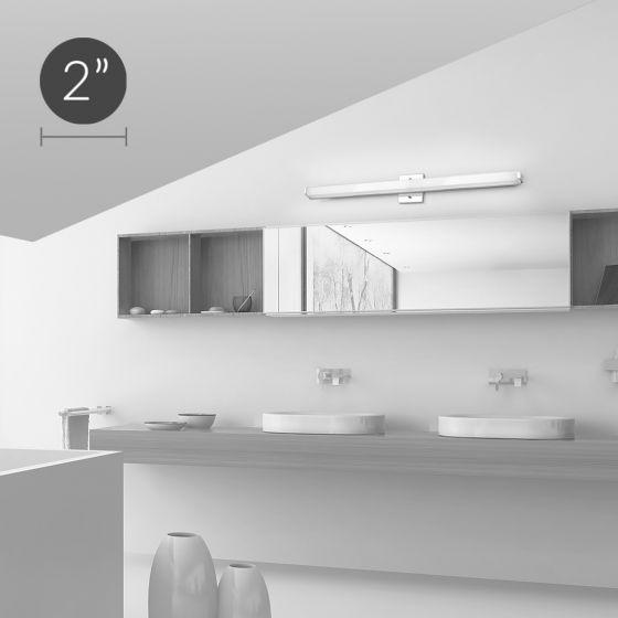 Image 1 of Alcon Lighting 11120 Modern Vanity LED 3 Foot Linear Wall Mount Lighting Fixture