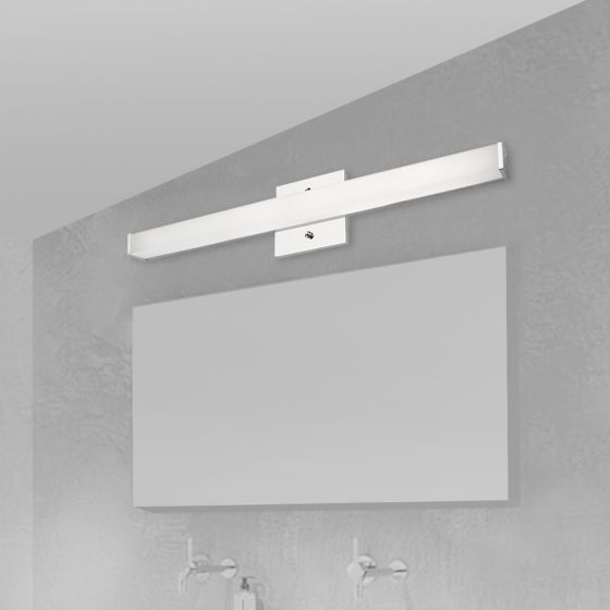 Image 1 of Alcon Lighting 11122-1 Modern Chrome Vanity LED Linear Wall Mount Lighting Fixture