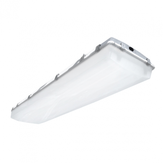 Image 1 of Alcon 11175 Low-Profile Vaportite Wet-Location Canopy Highbay Light