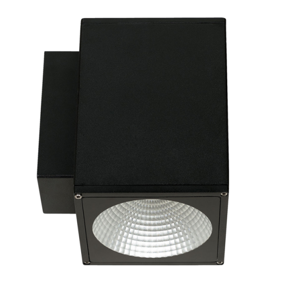 Alcon Lighting 11220-DIR Pavo Architectural LED 6 Inch Square Wall Mount Direct Down Light Fixture