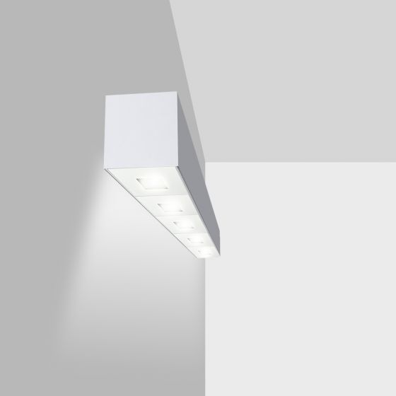 Image 1 of Alcon Lighting 11246-W Linear Adjustable Wall Mount Spot Light Box