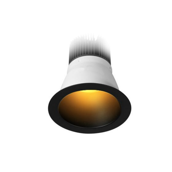 Image 1 of Alcon Lighting 11248 Turtle Friendly Architectural Amber LED Commercial Retrofit Downlight Fixture