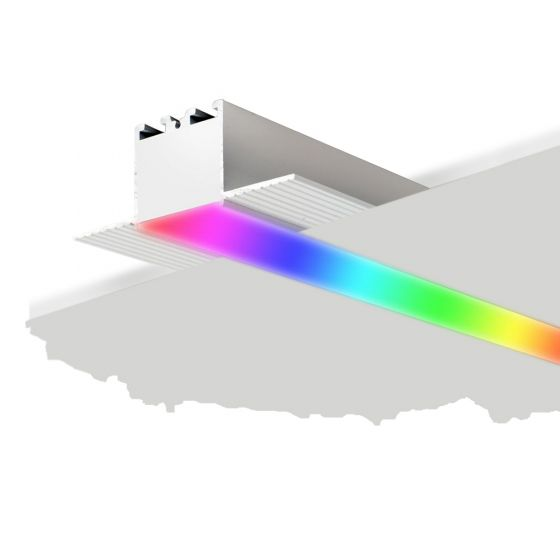 Image 1 of Alcon 12100-10-R-RGBW Linear Recessed LED Color-Changing Light