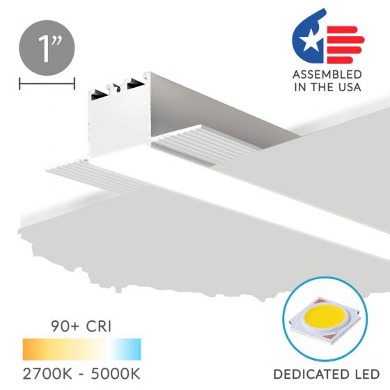 Image 1 of Alcon 12100-10-R Linear Recessed LED Downlight