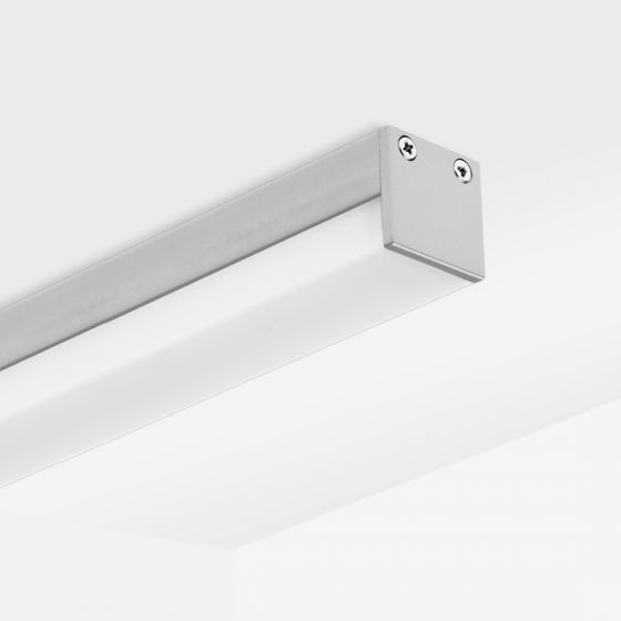 Image 1 of Alcon 12100-10-S Low-Profile Linear LED Surface-Mounted Ceiling Light Bar