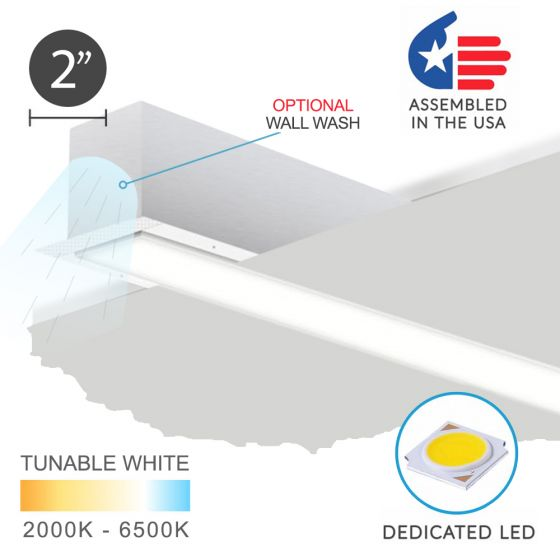 Image 1 of Alcon 12100-20-R Linear Recessed LED Light