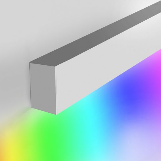 Image 1 of Alcon 12100-20-W-RGBW Linear Slim Wall Color-Changing LED Light