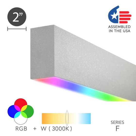 Image 1 of Alcon 12100-23-RGBW-S Linear Surface Color-Changing LED Light