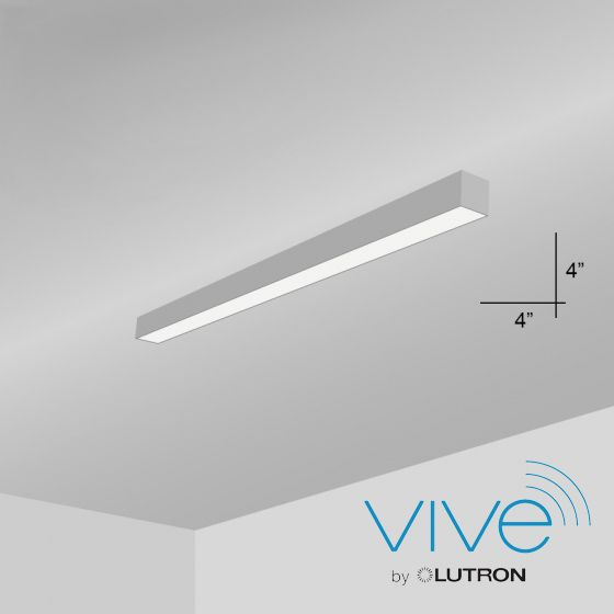 Alcon Lighting 12100-40-S Continuum 40 Series Architectural LED Linear Surface Mount Direct Light Fixture