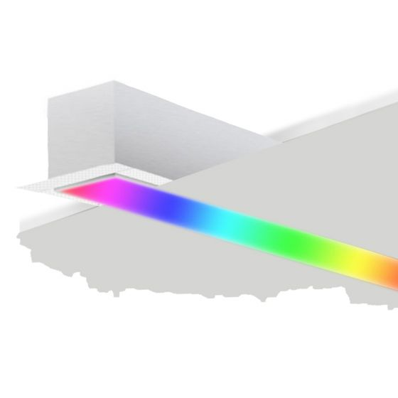 Image 1 of Alcon 12100-66-RGBW-R Linear Recessed Color-Changing LED Light