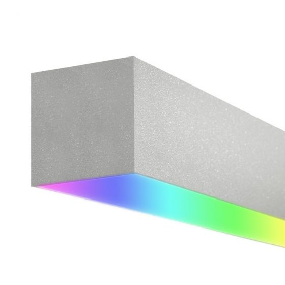 Image 1 of Alcon 12100-66-RGBW-S Linear Surface-Mounted Color-Changing LED Light
