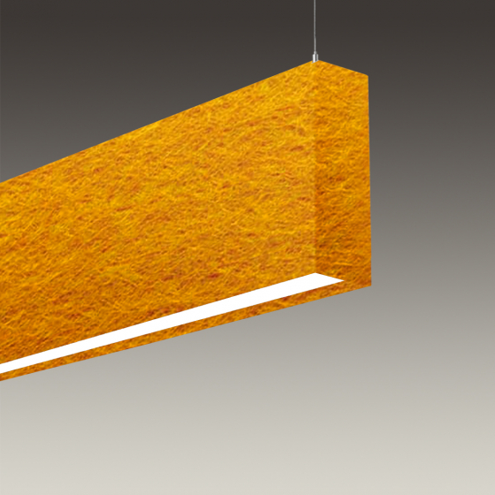 Image 1 of Alcon 12101-20-P Linear LED Pendant Light With Sound Absorbing Acoustics