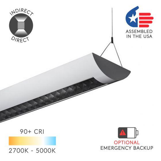 Image 1 of Alcon 22125-4 Casablanca LED Pendant - 4 FT, 5783 Lumens, White, 4000K