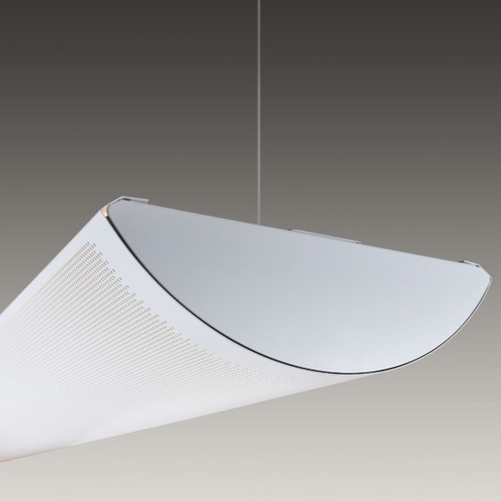 Image 1 of Alcon Lighting 12033 Cambridge Architectural LED Linear Pendant Mount Direct/Indirect Light Fixture