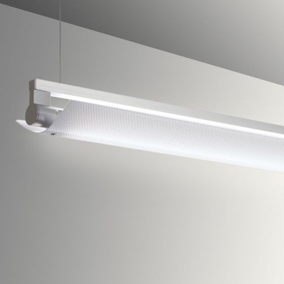 Image 1 of Alcon Gladstone 12160-P-PDI Adjustable LED Pendant Light Fixture - Perforated