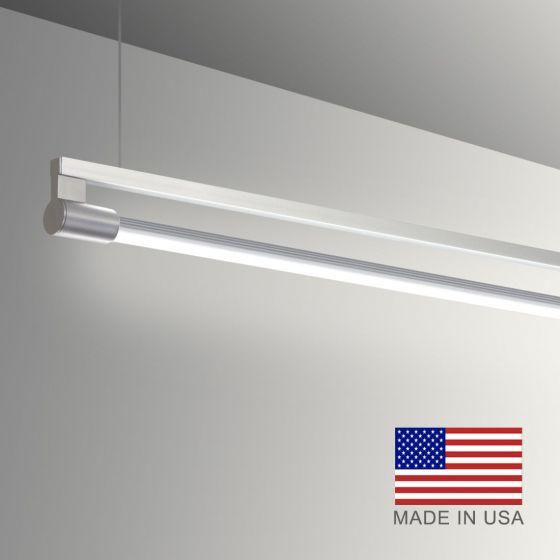 Image 1 of Alcon Gladstone 12160-P Adjustable LED Pendant Light Fixture