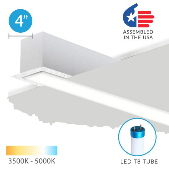 Image 1 of Alcon 12200-4-R RFT LED Linear Recessed Mount Light