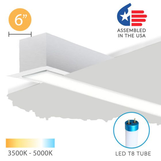 Image 1 of Alcon 12200-6-R RFT Series LED Linear Recessed Light