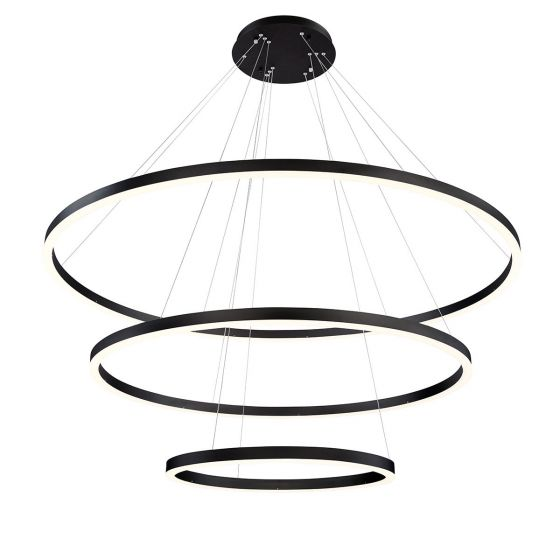 Image 1 of Alcon Lighting 12234 Cirkel Three-Tier 60.75 Inches LED Architectural Suspended Pendant Chandelier