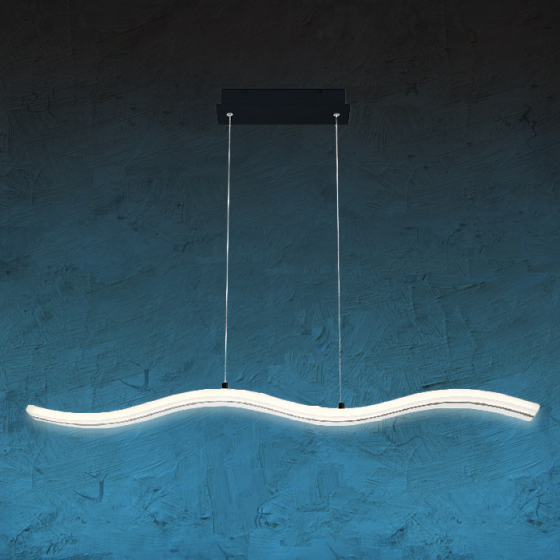 Image 1 of Alcon 12248 Rolling 38-Inch LED Architectural Pendant