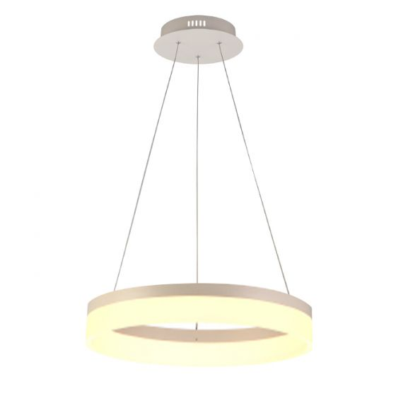 Image 1 of Alcon Lighting 12272-1 Redondo Architectural LED 1 Tier Ring Direct Downlight Chandelier Light