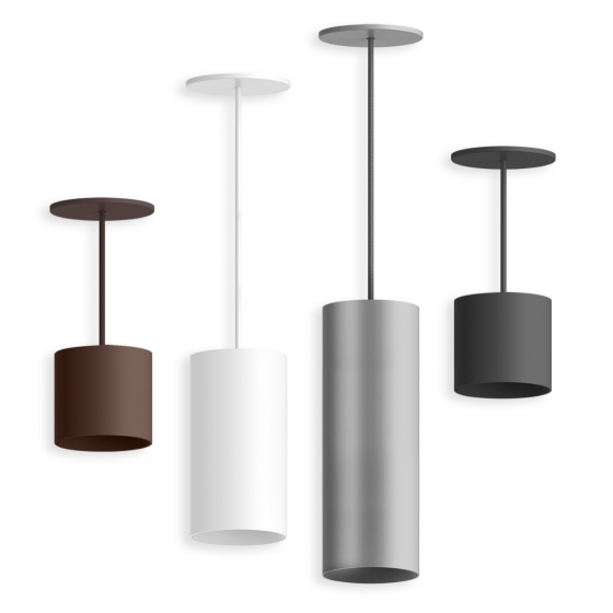 Image 1 of Alcon 12302-P Architectural LED Cylinder Pendant Light