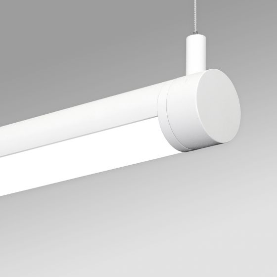 Image 1 of Alcon 12501-R2-P Rotatable Antimicrobial LED Pendant Tube Light