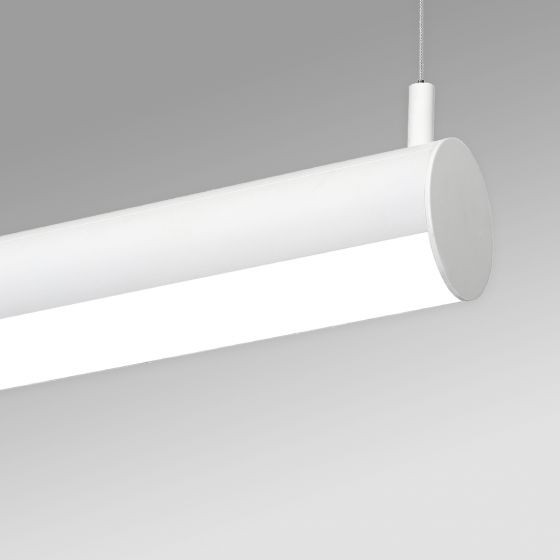 Image 1 of Alcon 12501-R4 Linear Antimicrobial LED Rotatable Pendant Tube Light